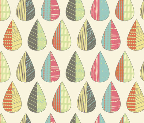 Mark Drops fabric by meredith_watson on Spoonflower - custom fabric