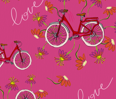 Favorite Ride fabric by hello_you on Spoonflower - custom fabric