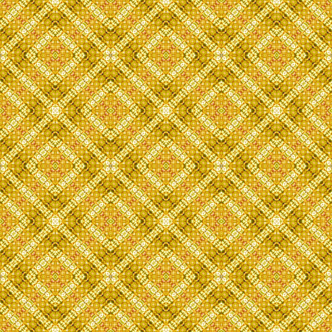 Golden Diamond Texture Tie Dye fabric by just_meewowy_design on Spoonflower - custom fabric