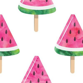 (jumbo) watermelon popsicles - pink