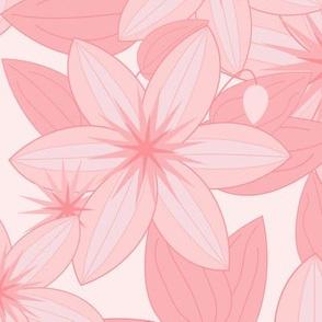 Clematis Scatter: Millennial Pink
