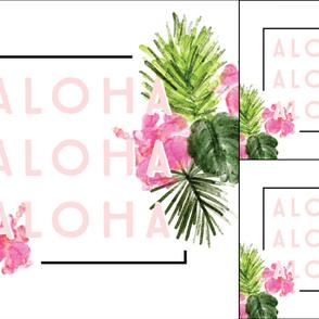 1 blanket + 2 loveys: aloha