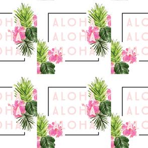 6 loveys: aloha // no lines