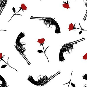 Guns and Red Roses // Large