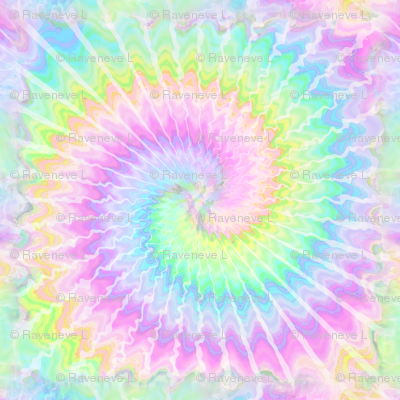2 tie dye pastel rainbow colourful psychedelic rave music festivals neon pink blue green spirals watercolor pop art hippies