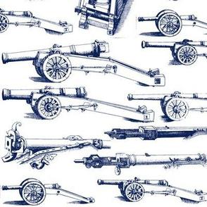 Olde Artillerie in Navy // Large
