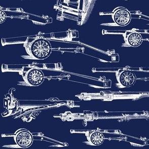 Olde Artillerie on Navy // Large