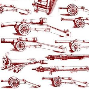 Olde Artillerie in Burgundy // Large