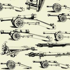 Olde Artillerie on Parchment // Large