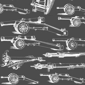 Olde Artillerie on Charcoal // Large