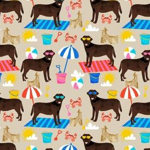 chocolate lab sandcastles summer dog breed fabric labrador retriever tan