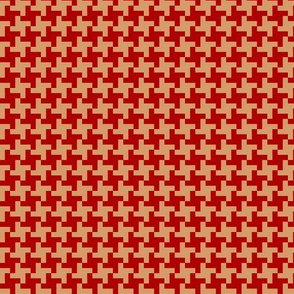 pepita red beige