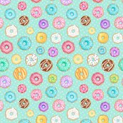 Rrscattered-rainbow-donuts-on-mint-spotty-150-full-size-hazel-fisher-creations_shop_thumb