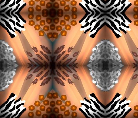 GRRRRRR!!!! fabric by bent_line_designs on Spoonflower - custom fabric