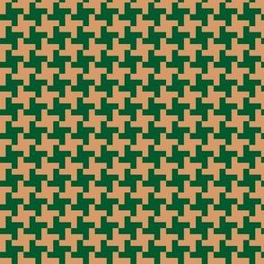 pepita beige green