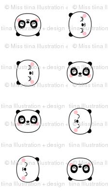 panda dreams cheeky panda faces