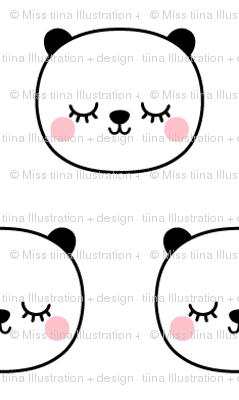 panda dreams cheeky panda sleepy faces small