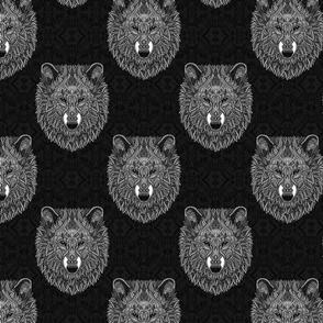 Grey Wolf (black)