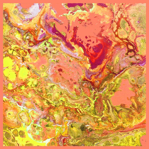 Marble 8 - cantaloupe