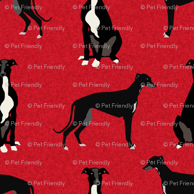 greyhound black pet quilt a coordinate nursery dog quilt