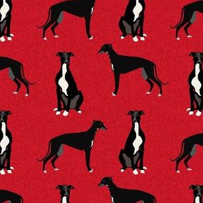 greyhound black pet quilt a coordinate nursery dog quilt