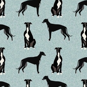 greyhound black pet quilt b coordinate nursery dog quilt