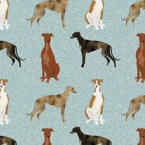 greyhound pet quilt b  coordinate nursery dog quilt
