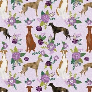 greyhound pet quilt c floral coordinate nursery dog quilt