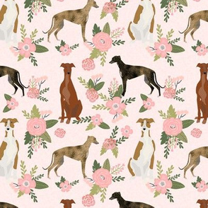 greyhound pet quilt d floral coordinate nursery dog quilt