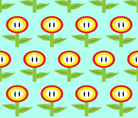 Power Up fabric by wepop on Spoonflower - custom fabric