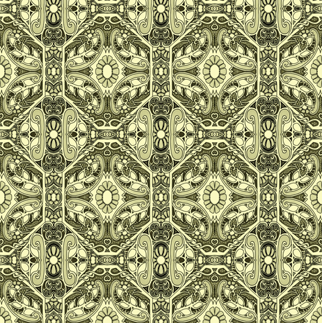 Oh Grandmother, What Victorian Flowers You Have fabric by edsel2084 on Spoonflower - custom fabric