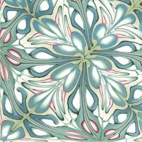 Flourishing garden tapestry