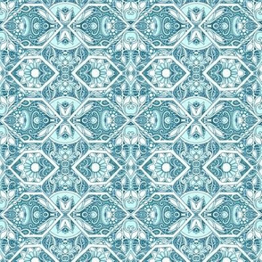 Long Gone Little Blue Hexagon