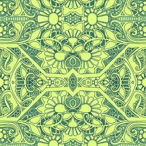The Bright Green Lace Garden