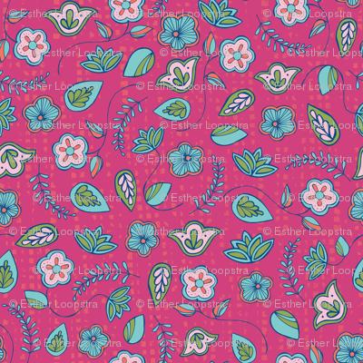 Indian Garden Pink