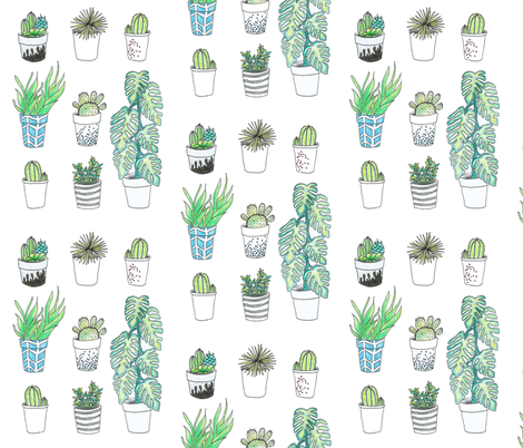 BOTANICAL fabric by fabrose on Spoonflower - custom fabric