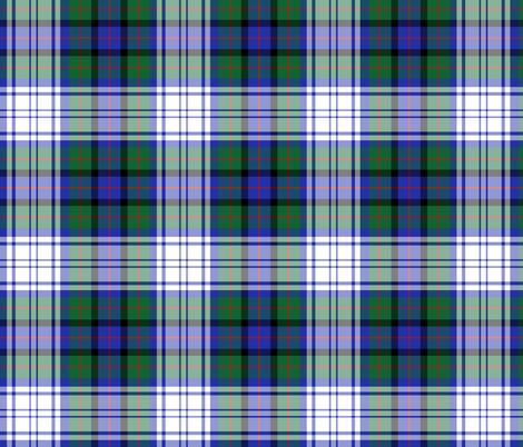 "Murray of Atholl dress tartan, 6"" fabric by weavingmajor on Spoonflower - custom fabric"