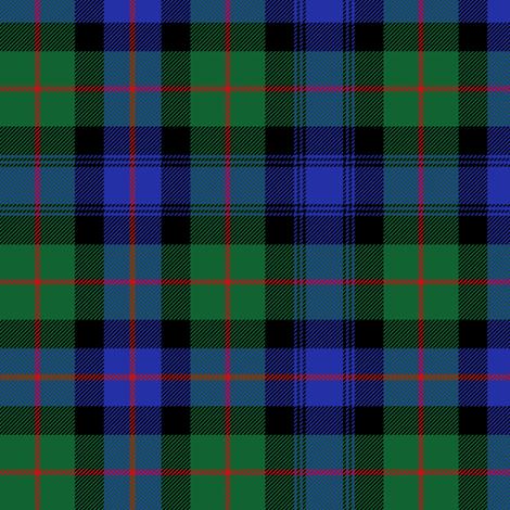 "Murray of Atholl tartan, 6"" fabric by weavingmajor on Spoonflower - custom fabric"