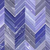 Wood Parquetry - Cobalt
