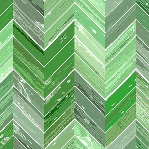 Wood Parquetry - Green 2