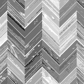 Wood Parquetry - Gray 2