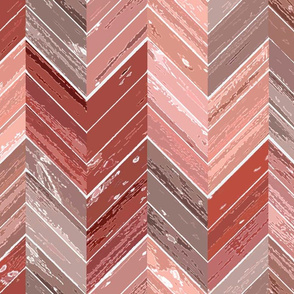 Wood Parquetry - Red 2