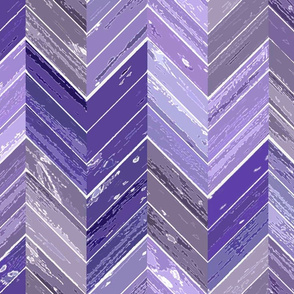 Wood Parquetry - Purple 2