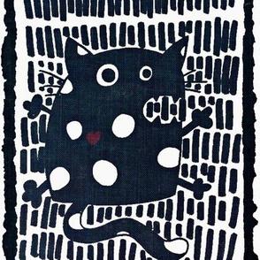 cat monochrome