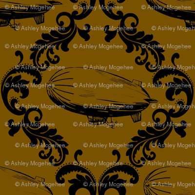 Airship_damask_fixed_brown_preview