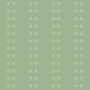 Diamond Stripe: Mossy Green 11