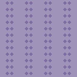 Diamond Stripe: Violet Purple 5