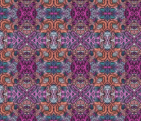 messy wc 4x4 fabric by leroyj on Spoonflower - custom fabric