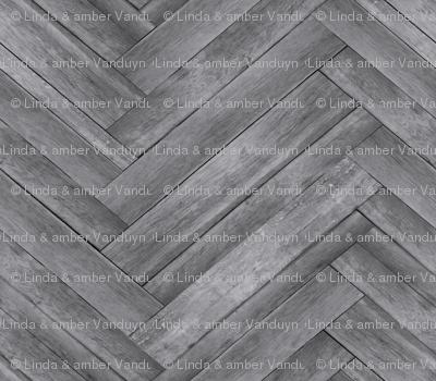 Herringbone Plank Wallpaper