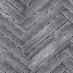 Herringbone Plank Wallpaper